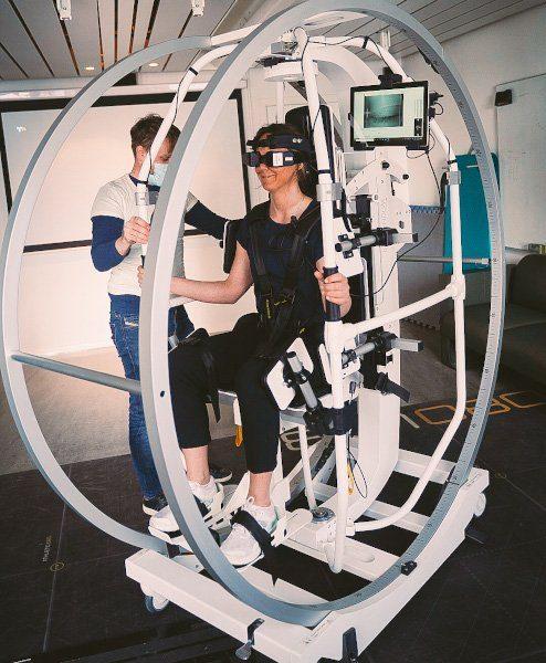 Rotundum - rotasjonsstol for krystallsyke -